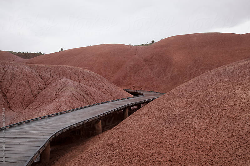 Painted Hills Oregon by Carey Haider for Stocksy United