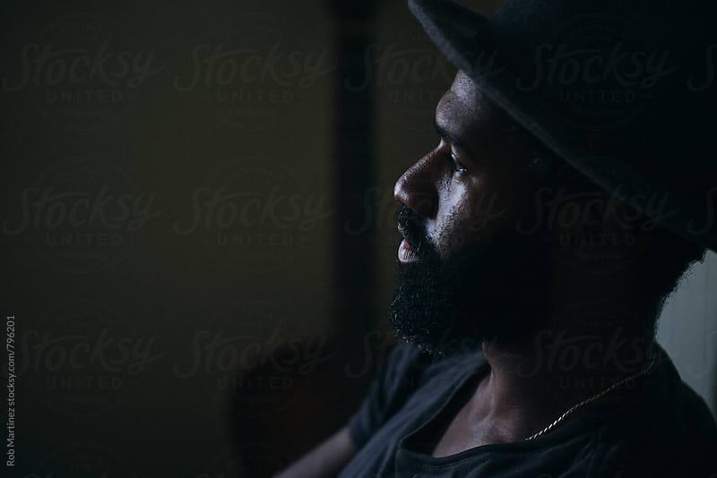 Trendy Black Dude by Rob Martinez for Stocksy United