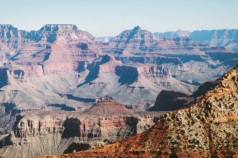 Grand Canyon views by luke + mallory leasure for Stocksy United