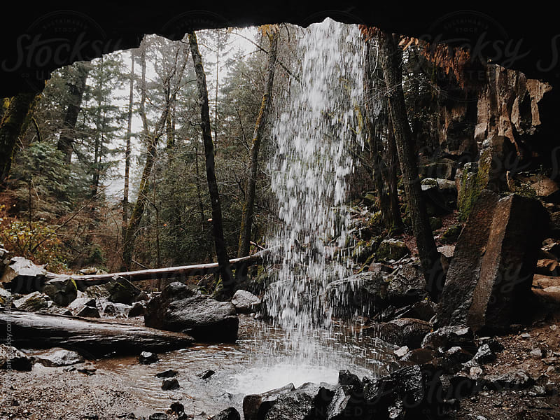 Northern California Waterfall by Sidney Morgan for Stocksy United