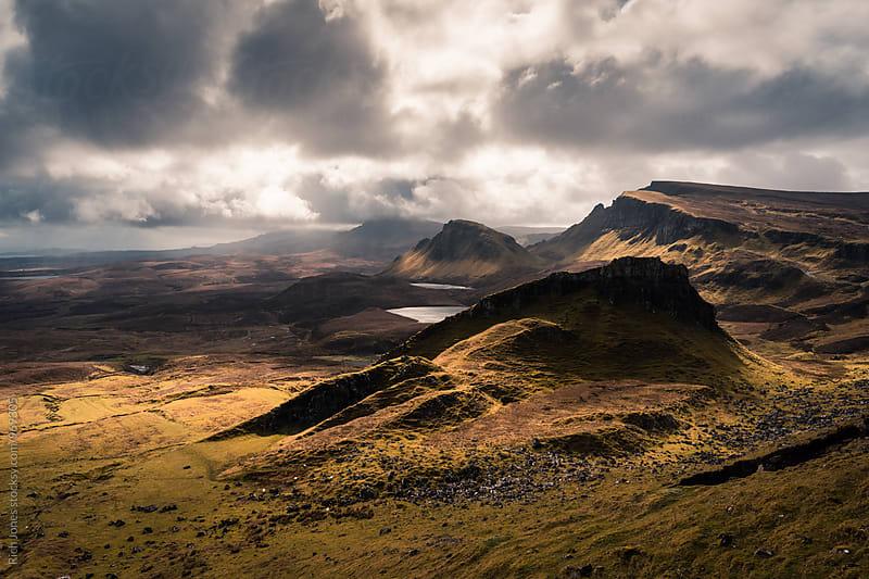 The Quiraing, Isle of Skye, Scotland by Richard Jones for Stocksy United
