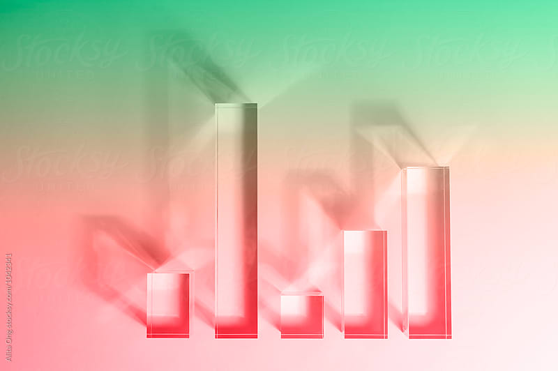 Bar charts by Alita Ong for Stocksy United