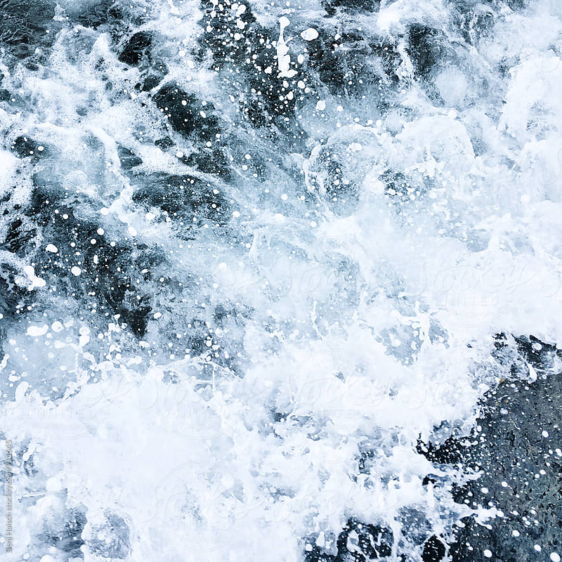 Crashing waves by Benj Haisch for Stocksy United