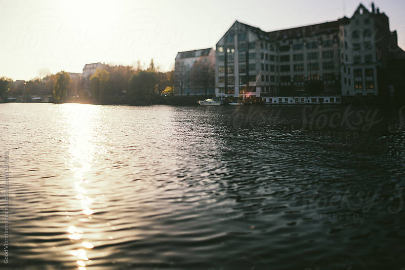 Spree River at Sunset by Good Vibrations Images for Stocksy United