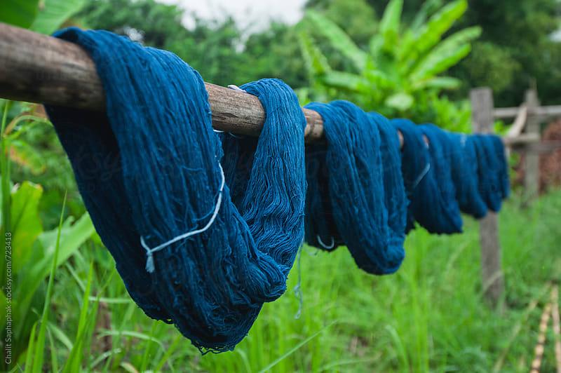 Dye Indigo by Chalit Saphaphak for Stocksy United