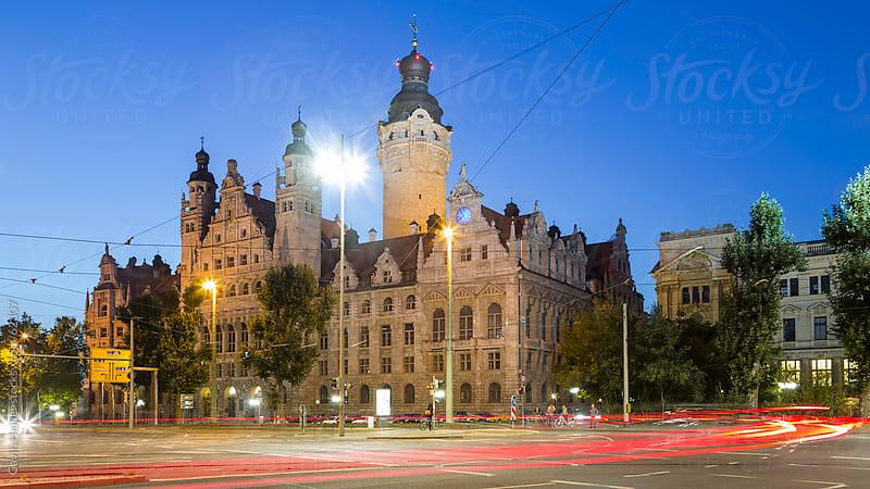 New city hall (Neues Rathaus), Leipzig, Saxony, Germany by Gavin Hellier for Stocksy United