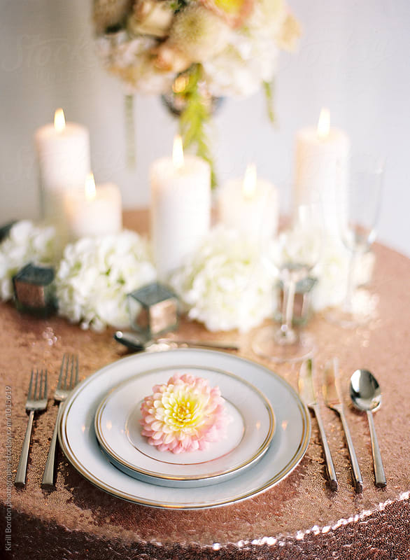 tablescape by Kirill Bordon photography for Stocksy United