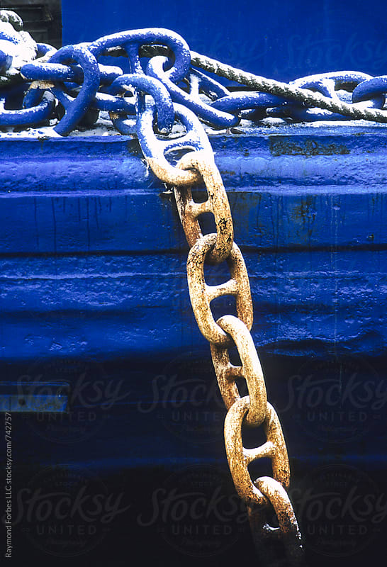 Chain Link in Winter by Raymond Forbes LLC for Stocksy United
