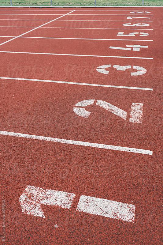 Running track by B & J for Stocksy United