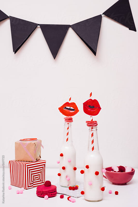 Funny and Romantic Valentine's Party Decoration by Katarina Radovic for Stocksy United