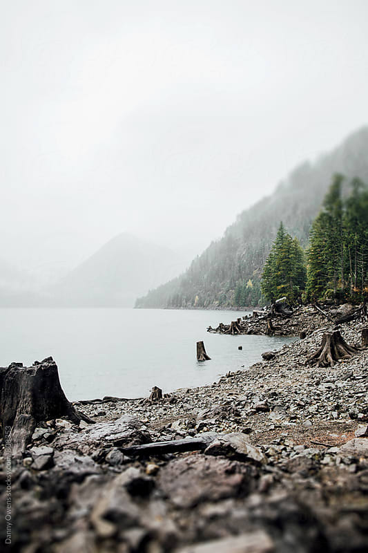Lake Cushman by Danny Owens for Stocksy United