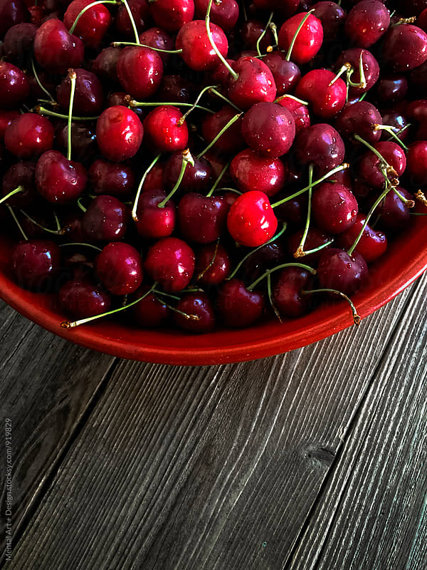Cherries by Mental Art + Design for Stocksy United