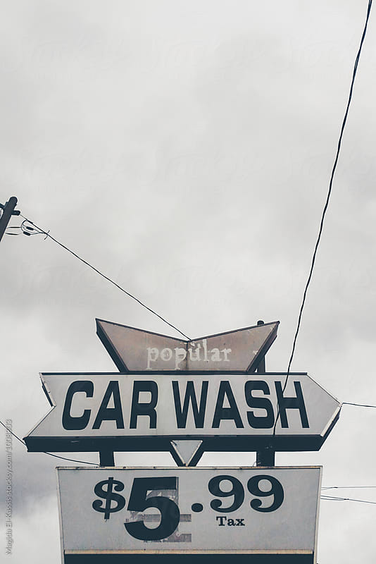 car wash by Magida El-Kassis for Stocksy United