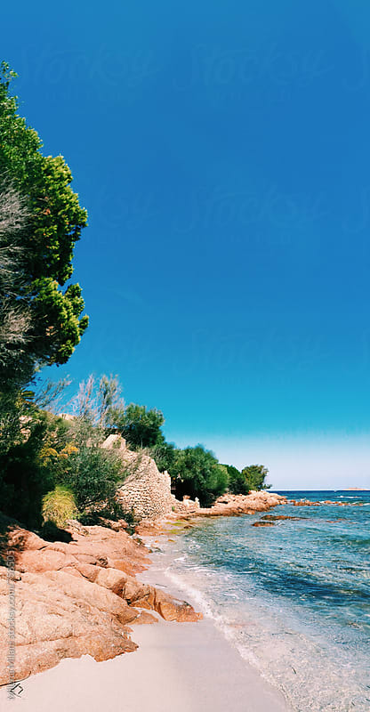Piccolo Pevero beach by Milena Milani for Stocksy United