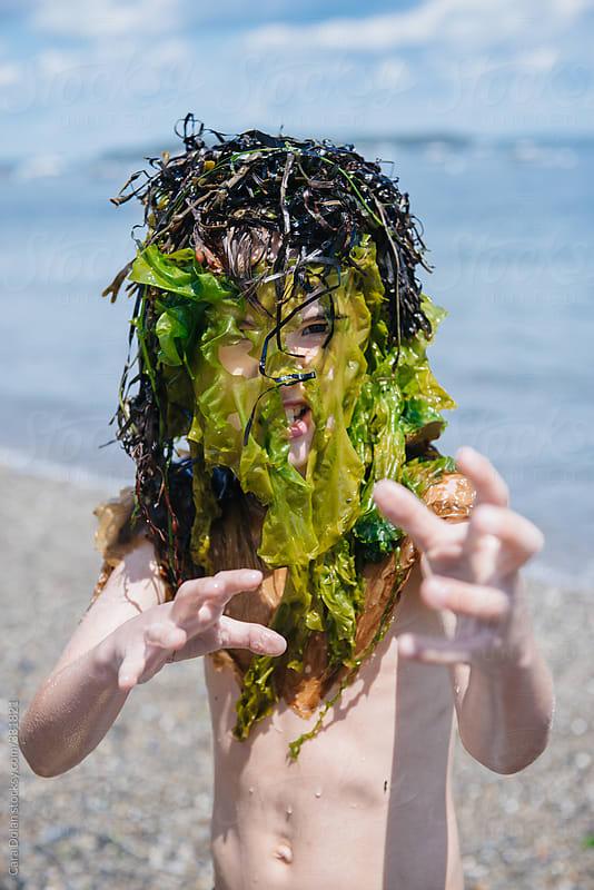 Image result for seaweed monster