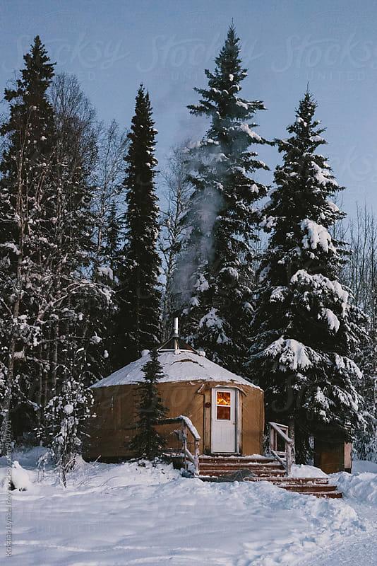 Yurt by Kristian Lynae Irey for Stocksy United