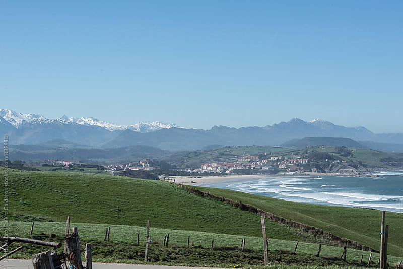 Cantabrian coast in northern Spain by Marta Muñoz-Calero Calderon for Stocksy United