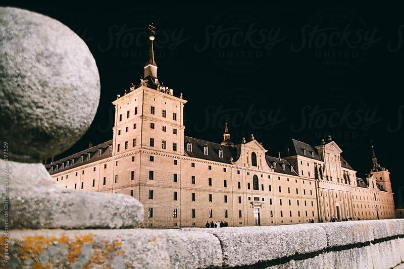 Monastery of San Lorenzo de El Escorial, Madrid. Spain touristic landmark by Alejandro Moreno de Carlos for Stocksy United