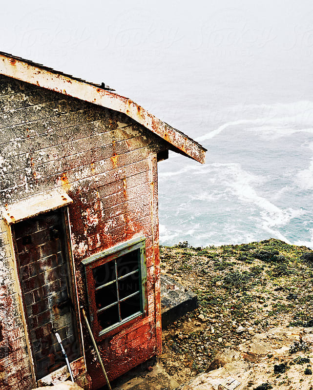 Abandoned Seaside Shack by Adam Naples for Stocksy United