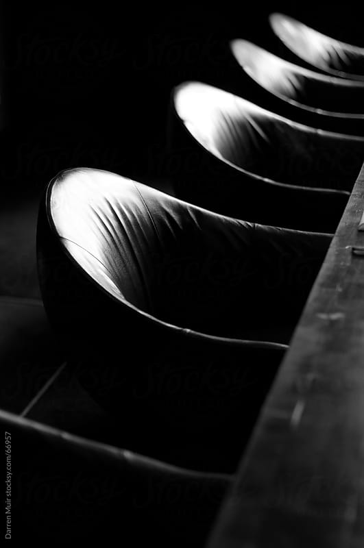 Leather seats in a boardroom.  by Darren Muir for Stocksy United