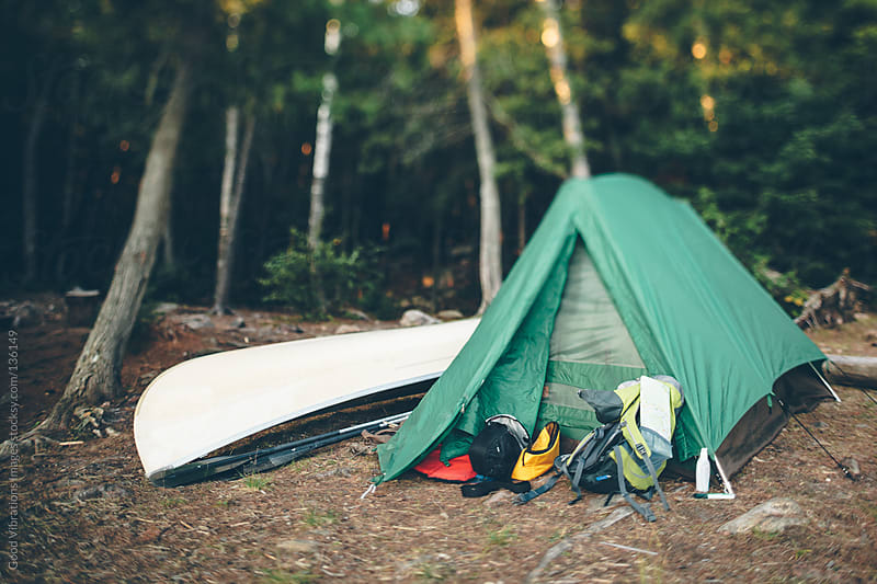 Camping by Good Vibrations Images for Stocksy United