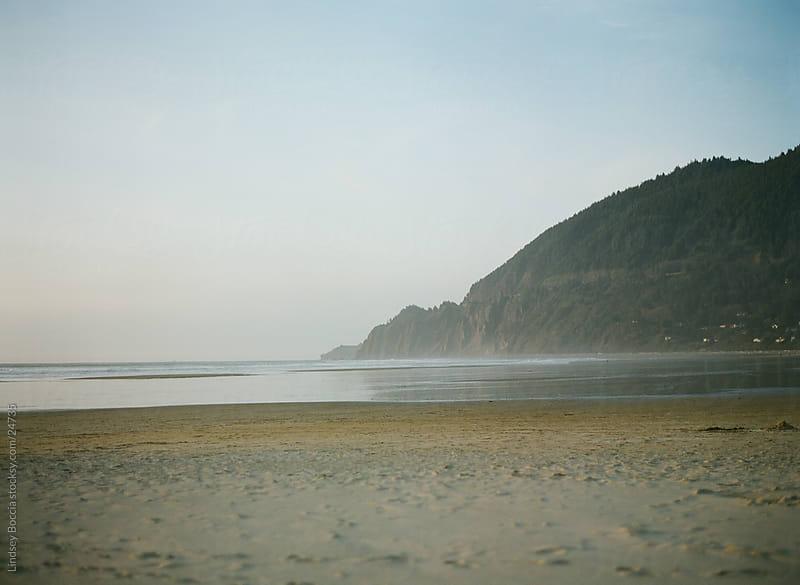 coastline at manzanita by Lindsey Boccia for Stocksy United