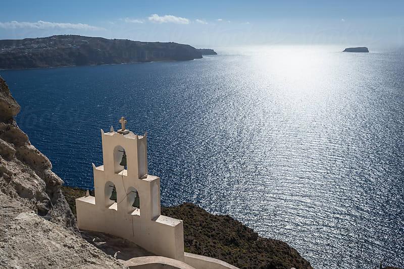 Traditional Church in Santorini by GIC for Stocksy United