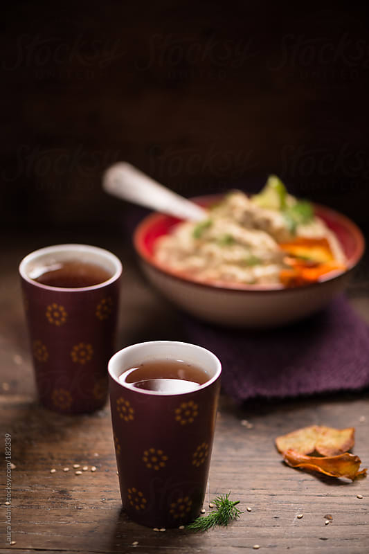 a cup of white tea by Laura Adani for Stocksy United