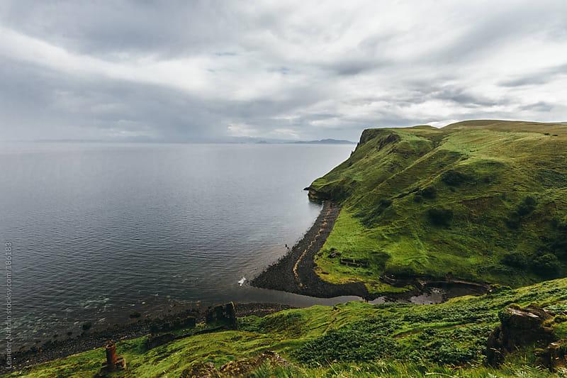 Rocky coast on the isle of skye by Leander Nardin for Stocksy United
