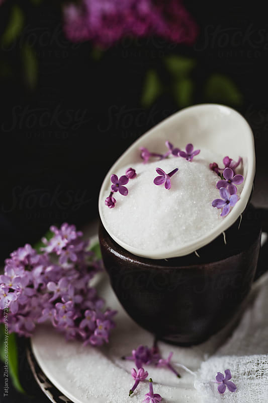 Lilac sugar by Tatjana Ristanic for Stocksy United