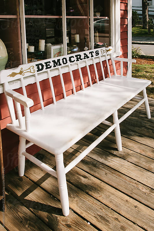 Democrats....Have a Seat by Raymond Forbes LLC for Stocksy United