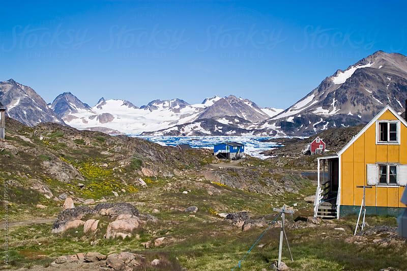 Coastal Scene near Kulusuk, Greenland by Alex Hibbert for Stocksy United