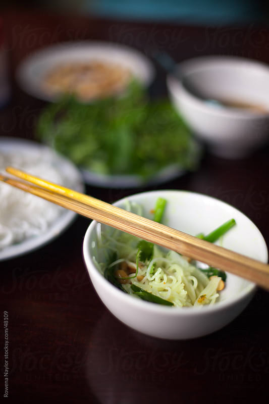 Vietnamese Cha Ca La Vong Dish by Rowena Naylor for Stocksy United
