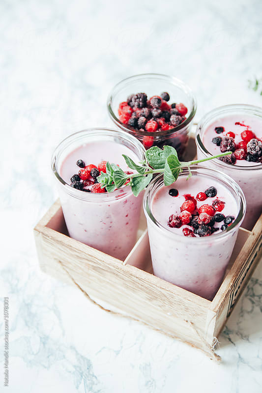 Fresh delicious smoothie by Nataša Mandić for Stocksy United