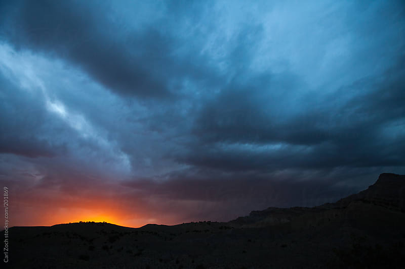 Colorado Clouds by Carl Zoch for Stocksy United