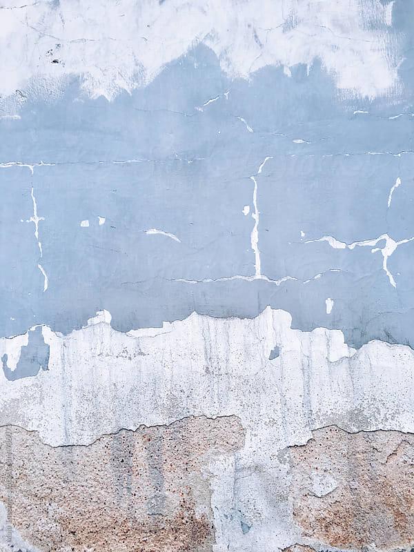 Cracked textured wall by Maja Topcagic for Stocksy United