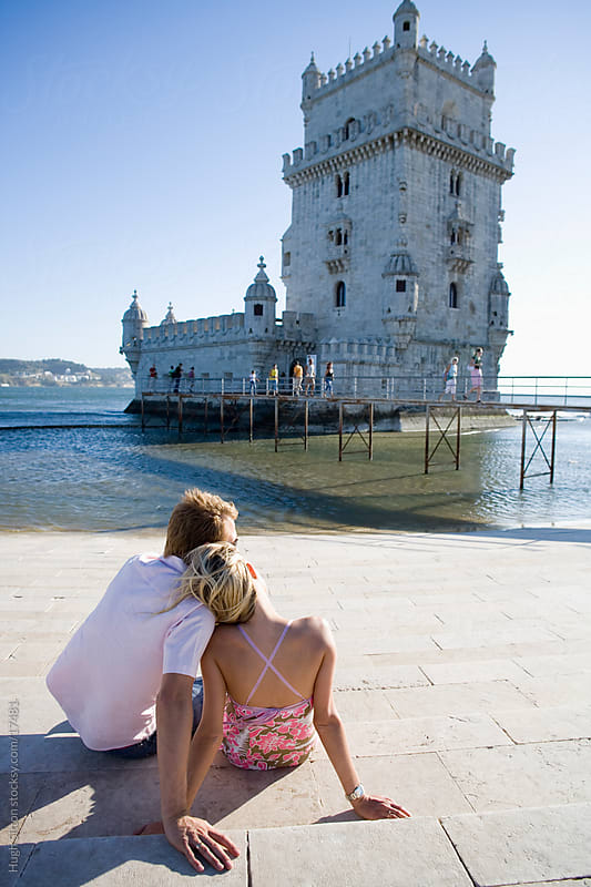 Couple on holiday in Lisbon. Portugal.  by Hugh Sitton for Stocksy United