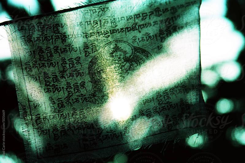 Buddhist Banner by Eldad Carin for Stocksy United