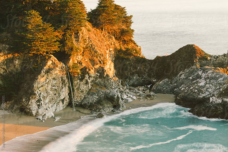 Mcway Falls, Big Sur California by Joel Bear Studios for Stocksy United