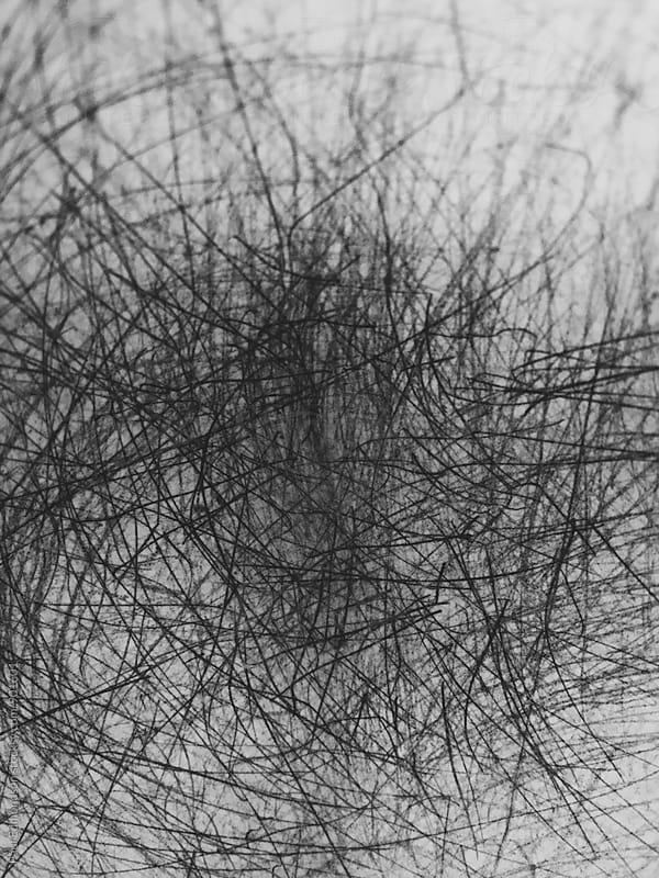 Close up scratch marks on ceramic bowl by Paul Edmondson for Stocksy United