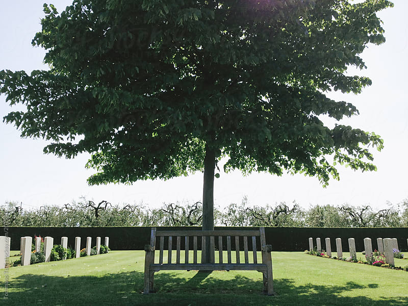 Moro River Canadian War Cemetery  by Tommaso Tuzj for Stocksy United
