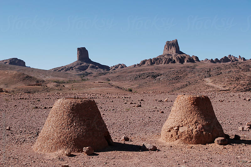 Bread ovens in Morocco by Ferenc Boros for Stocksy United