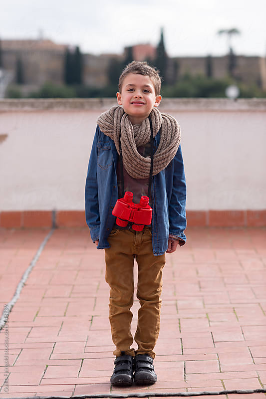 Small great explorer by Guille Faingold for Stocksy United