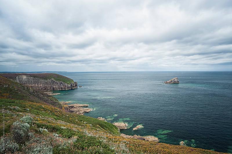 Coastline in Brittany  by GIC for Stocksy United