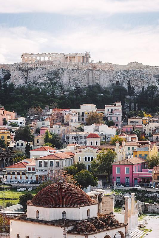 Athens Acropolis, Plaka and Monastiraki by Helen Sotiriadis for Stocksy United