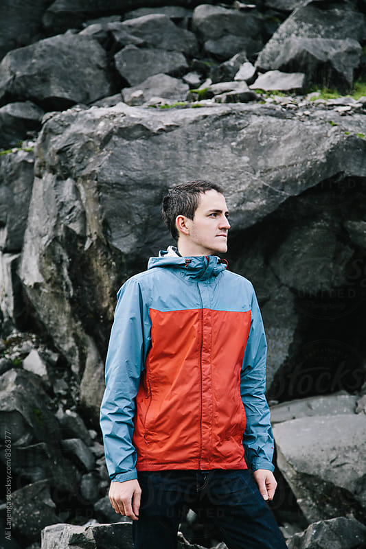 Portrait of a climber  by Ali Lanenga for Stocksy United