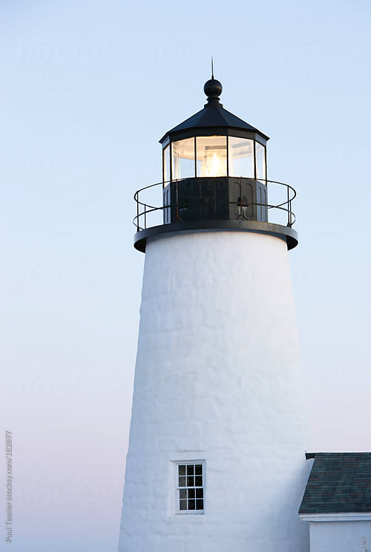 Lighthouse by Paul Tessier for Stocksy United