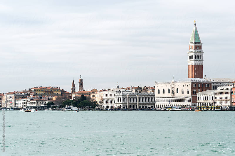Views of St Mark's Square from the Canal by Bisual Studio for Stocksy United