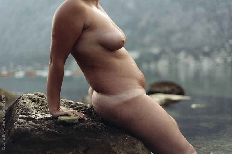 Portrait of naked woman by Kate & Mary for Stocksy United
