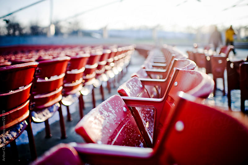 Stadium Seats by Arthur Chang for Stocksy United